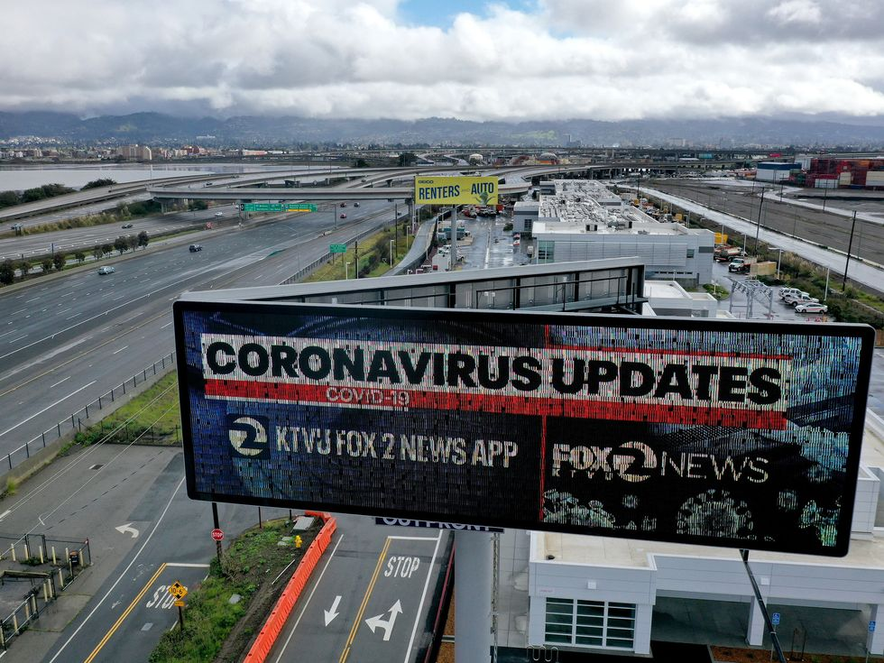 Coronavirus updates clearned roadways