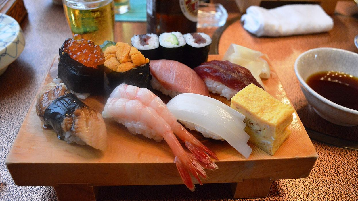 Sushi Parasite Has Increased 283x in Nearly 40 Years
