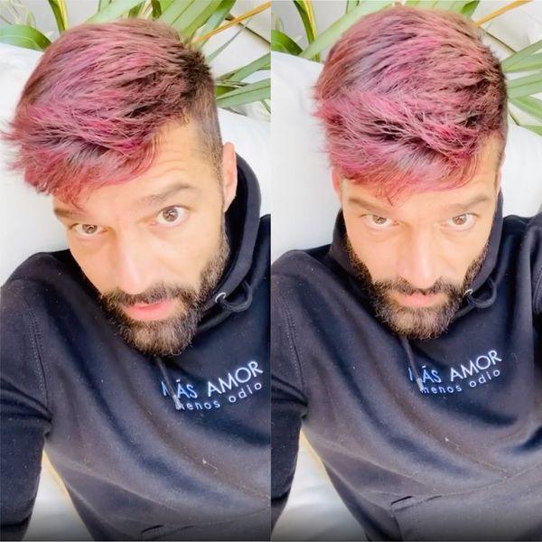Someone Check on New Redhead Ricky Martin