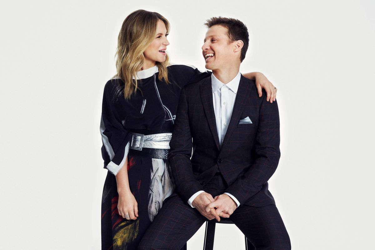 Vanessa Ray and Will Estes of Blue Bloods.