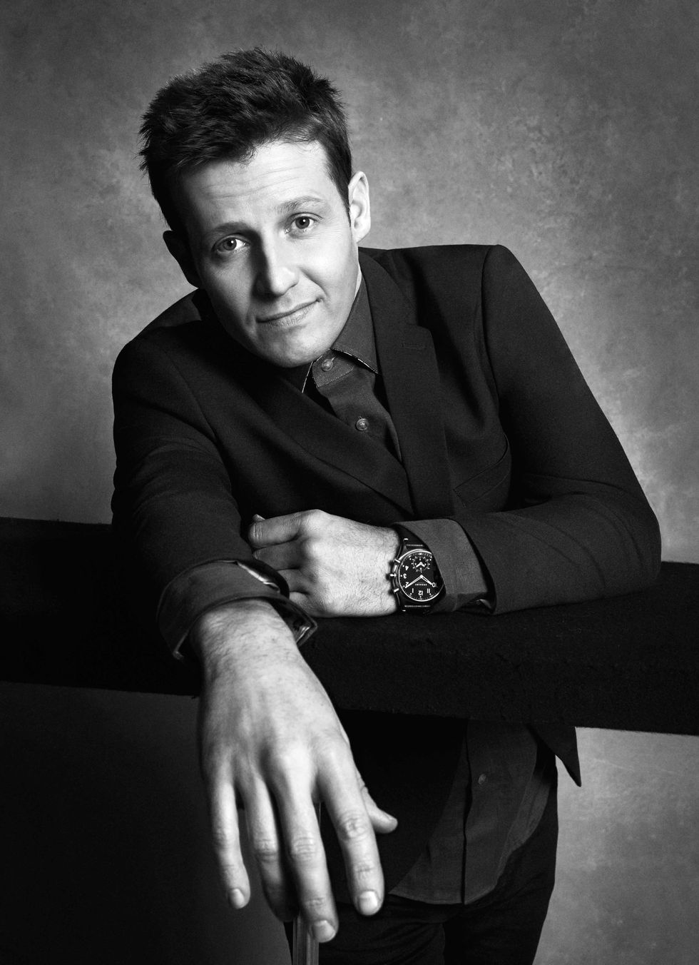 Will Estes black and white portrait