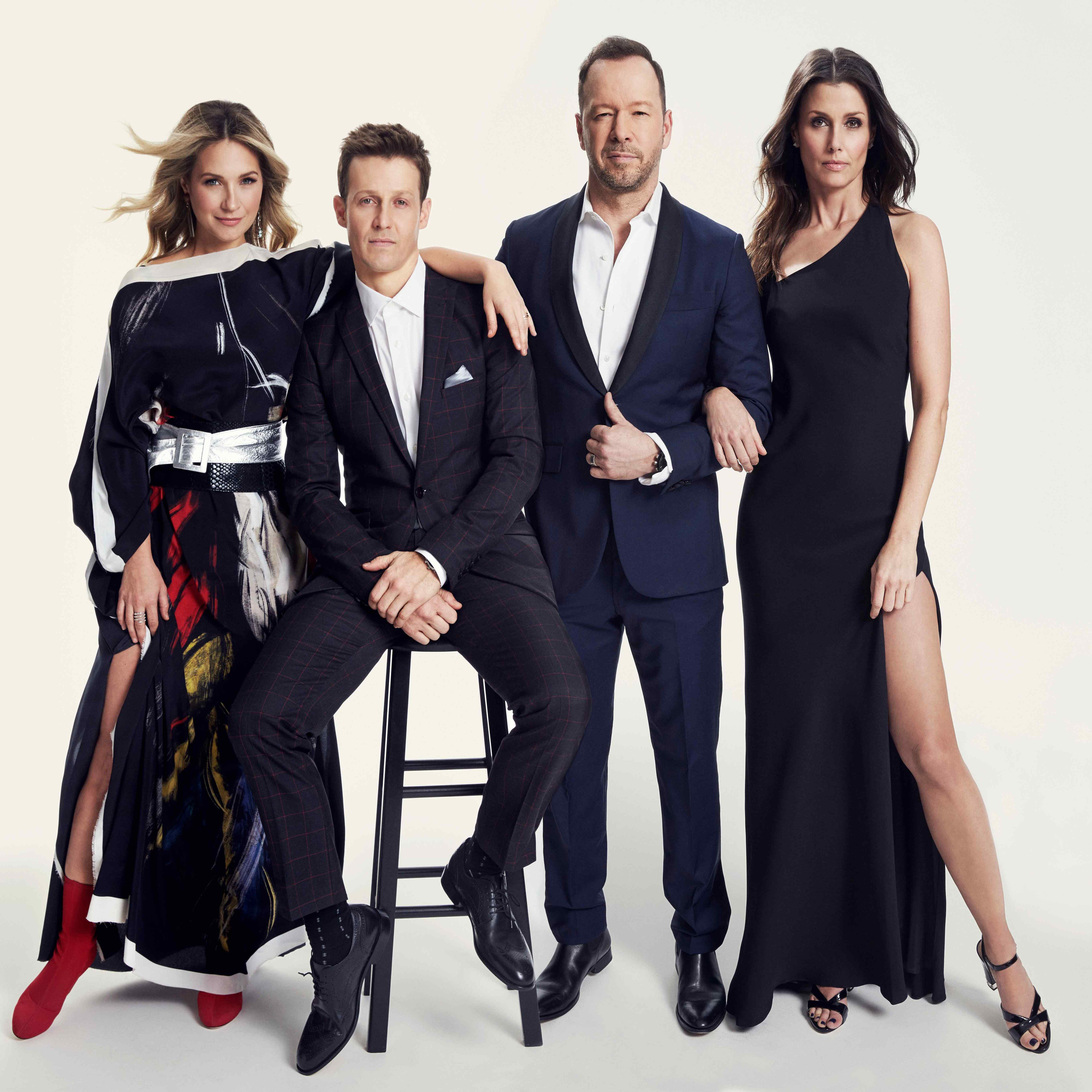Blue Bloods cast member for a glam photo shoot.