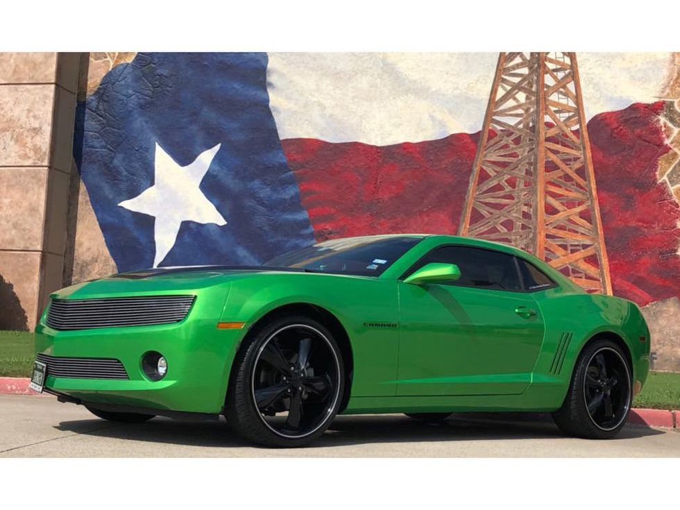 2010 Chevrolet Camaro 1LT Syngery Green Special Edition