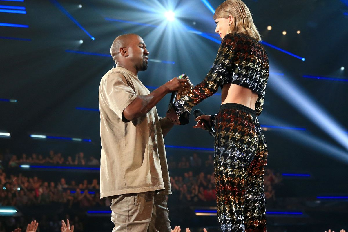 There's A New Leaked Video of Kanye and T. Swift Talking 'Famous'