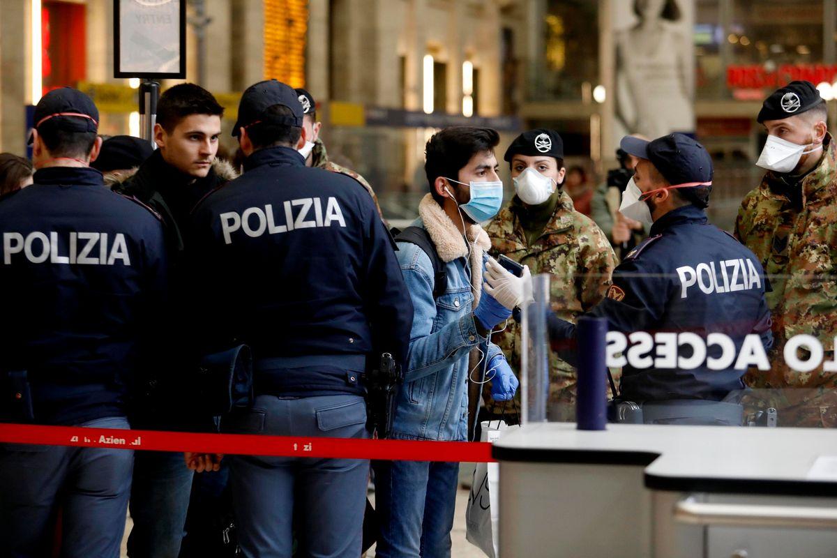 Rallentano i contagi, i morti sono 5.476. Stop alla fuga al Sud da Milano Centrale