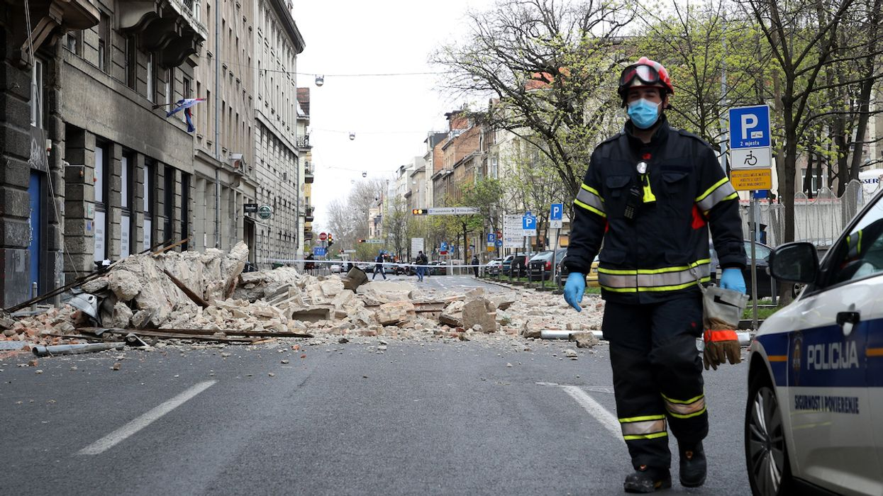 5.4 Earthquake Rattles Croatian Capital, Forcing Residents out of Coronavirus Lockdown