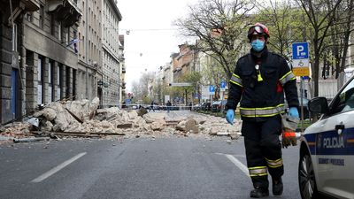 5 4 Earthquake Rattles Croatian Capital Forcing Residents Out Of Coronavirus Lockdown Ecowatch