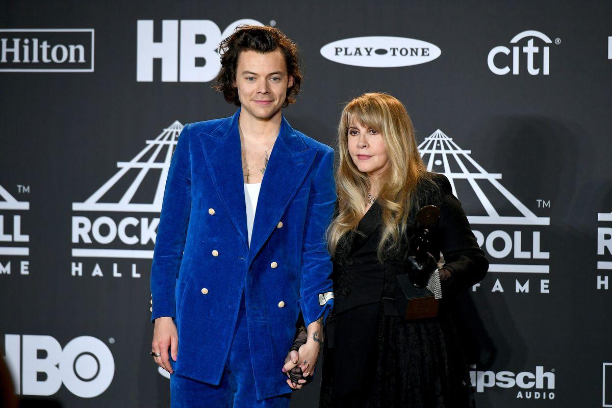 Stevie Nicks Calls Harry Styles' 'Fine Line' His 'Rumours'