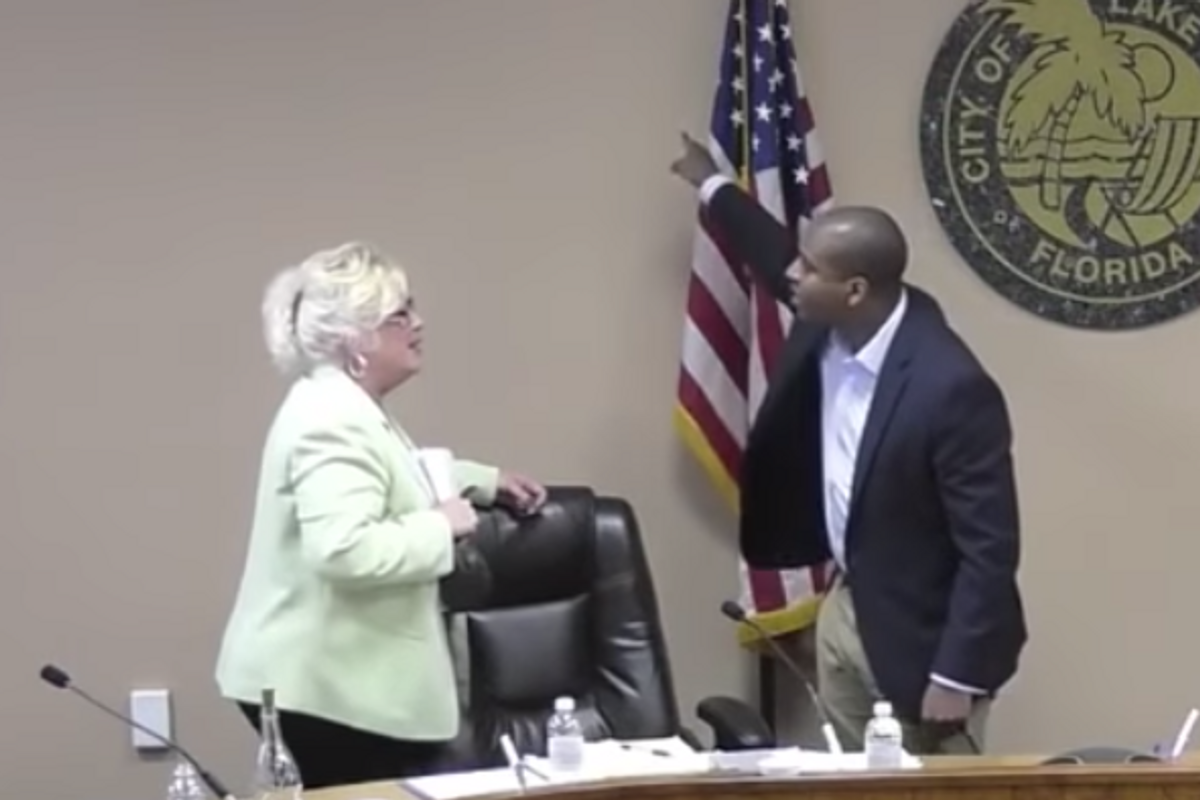 Florida city commissioner is being called a hero for confronting mayor who cut off power to residents