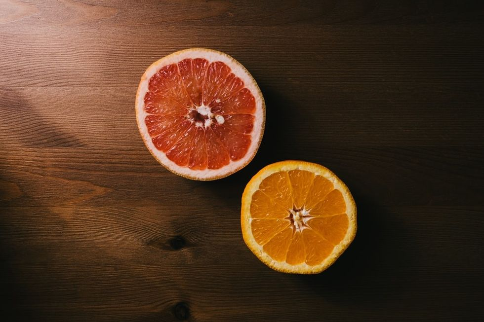 Fruits and vitamins