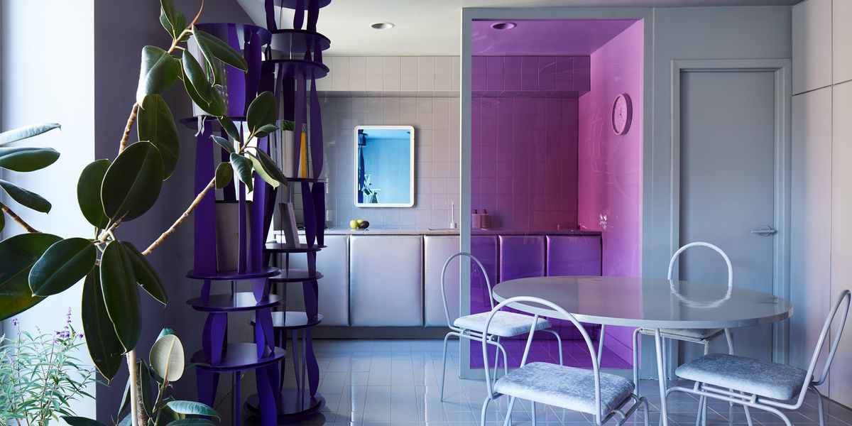 I'd Rather Be Quarantined in Harry Nuriev's Purple Apartment