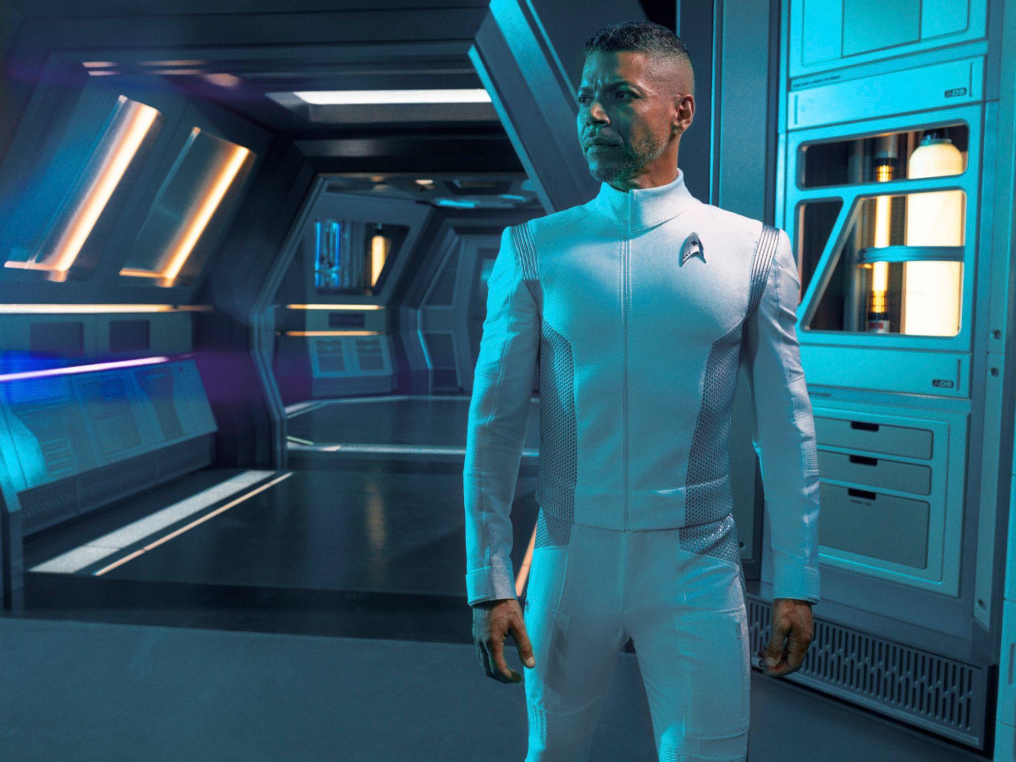 Wilson Cruz as Culber on Star Trek: Discovery.