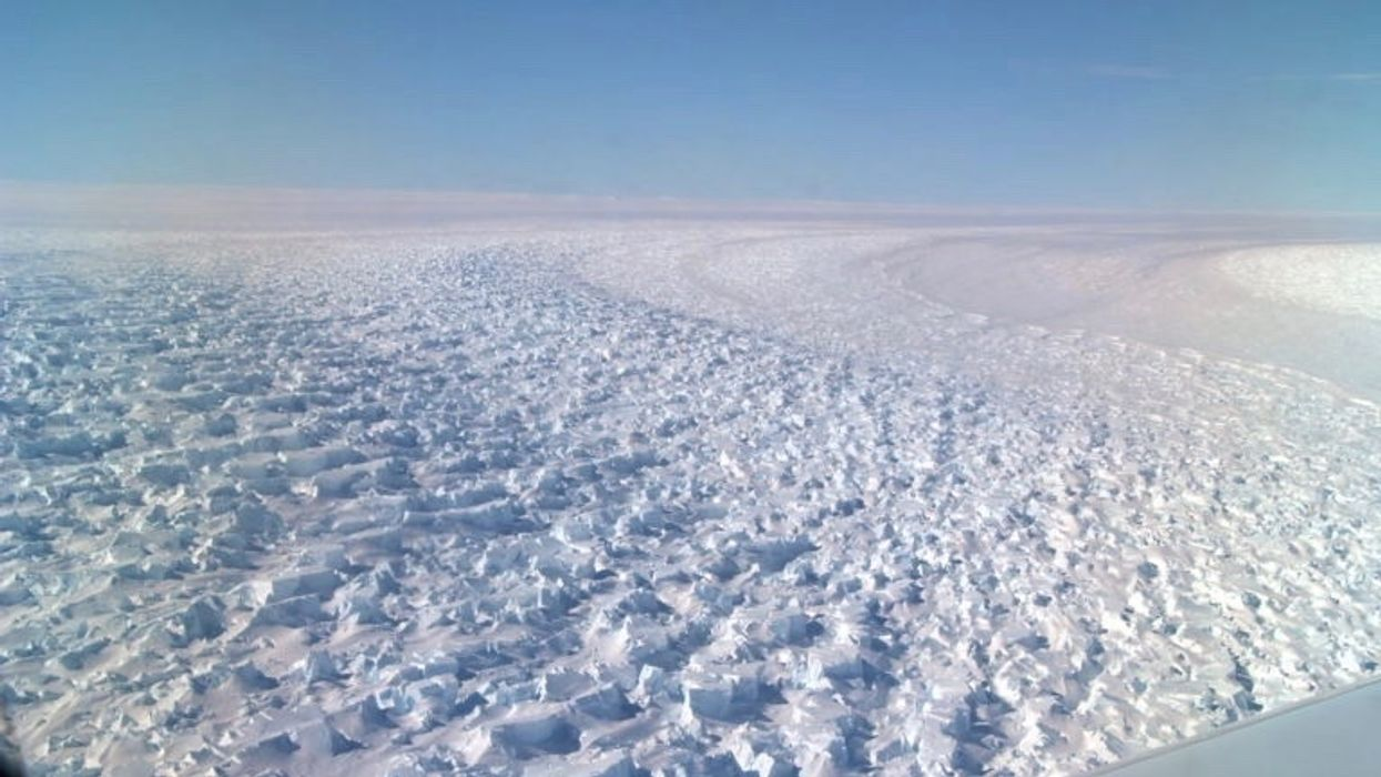 Retreating Antarctic Glacier Could Raise Sea Levels 5 Feet