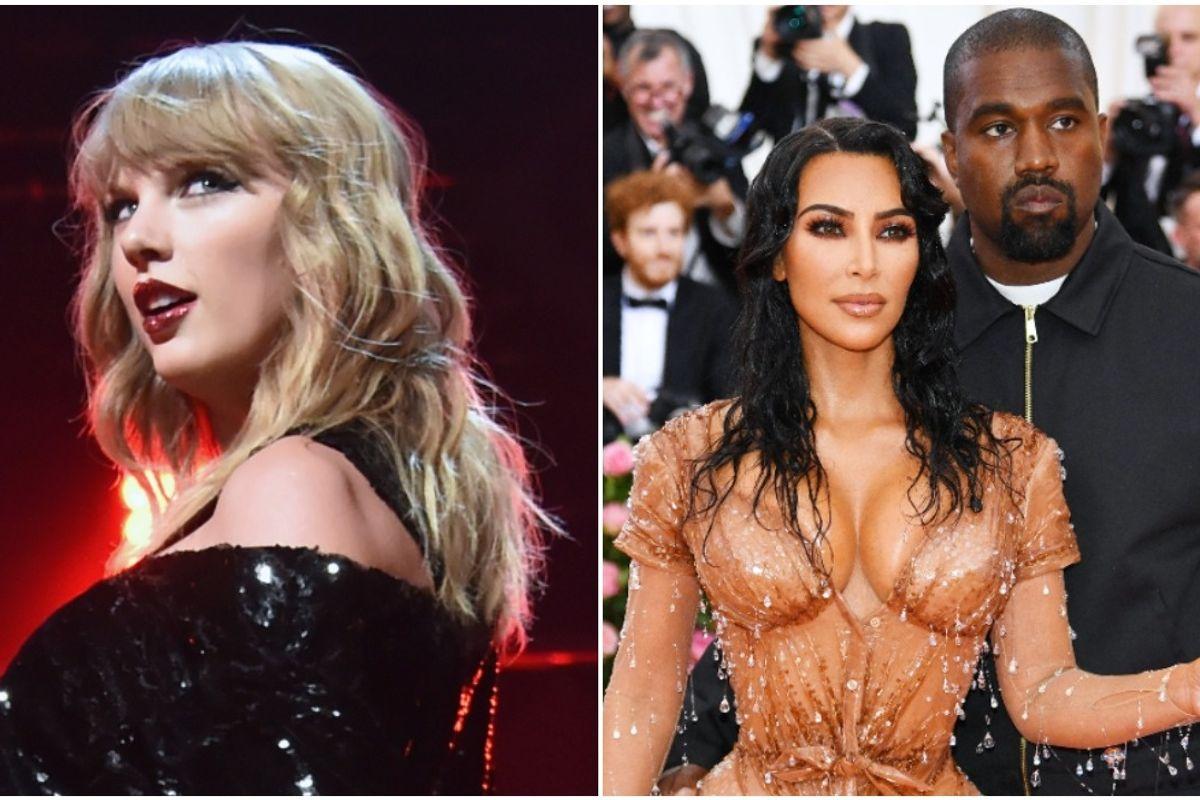 Kim Kardashian Responds to Taylor Swift Over Leaked Kanye Call