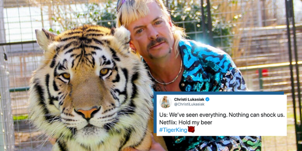 15 Of The Funniest 'Tiger King' Tweets For All You Cool Cats And Kittens
