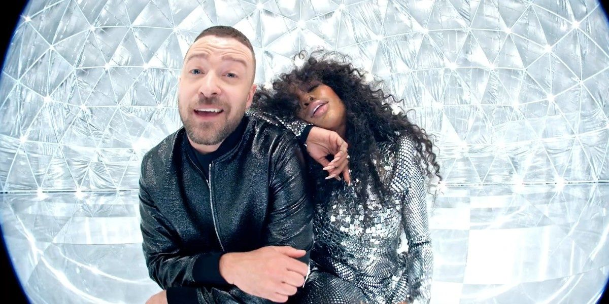 """SZA & Justin Timberlake Dance Inside A Disco Ball For """"The Other Side"""" Video"""