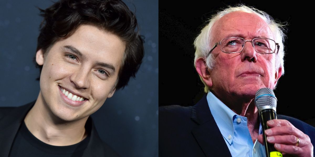 Cole Sprouse Is Feeling The Bern