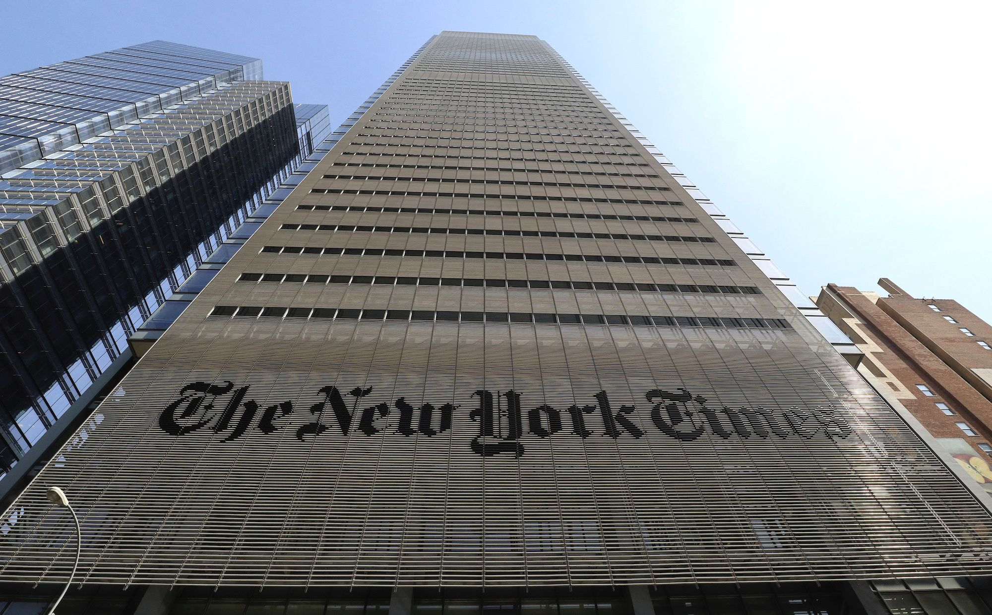 Trump re-election campaign slaps New York Times with a lawsuit over claims about Russian collusion