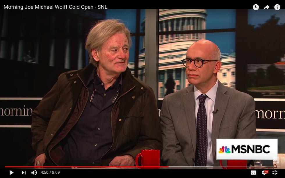 SNL Cold Open: Bill Murray IS Steve Bannon On 'Morning Joe'
