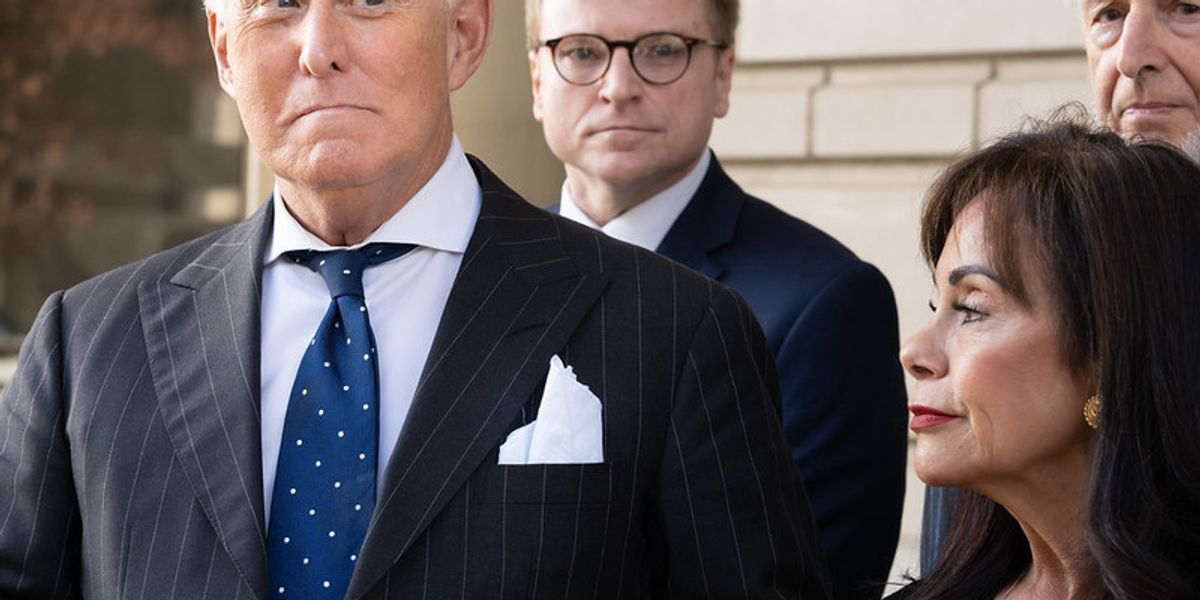 Roger Stone Asks Pardon So He Can Join Trump 2020 Campaign
