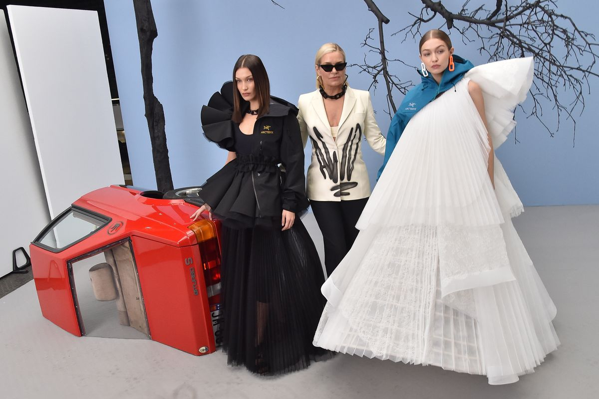 The Off-White Runway Was a Hadid Family Affair
