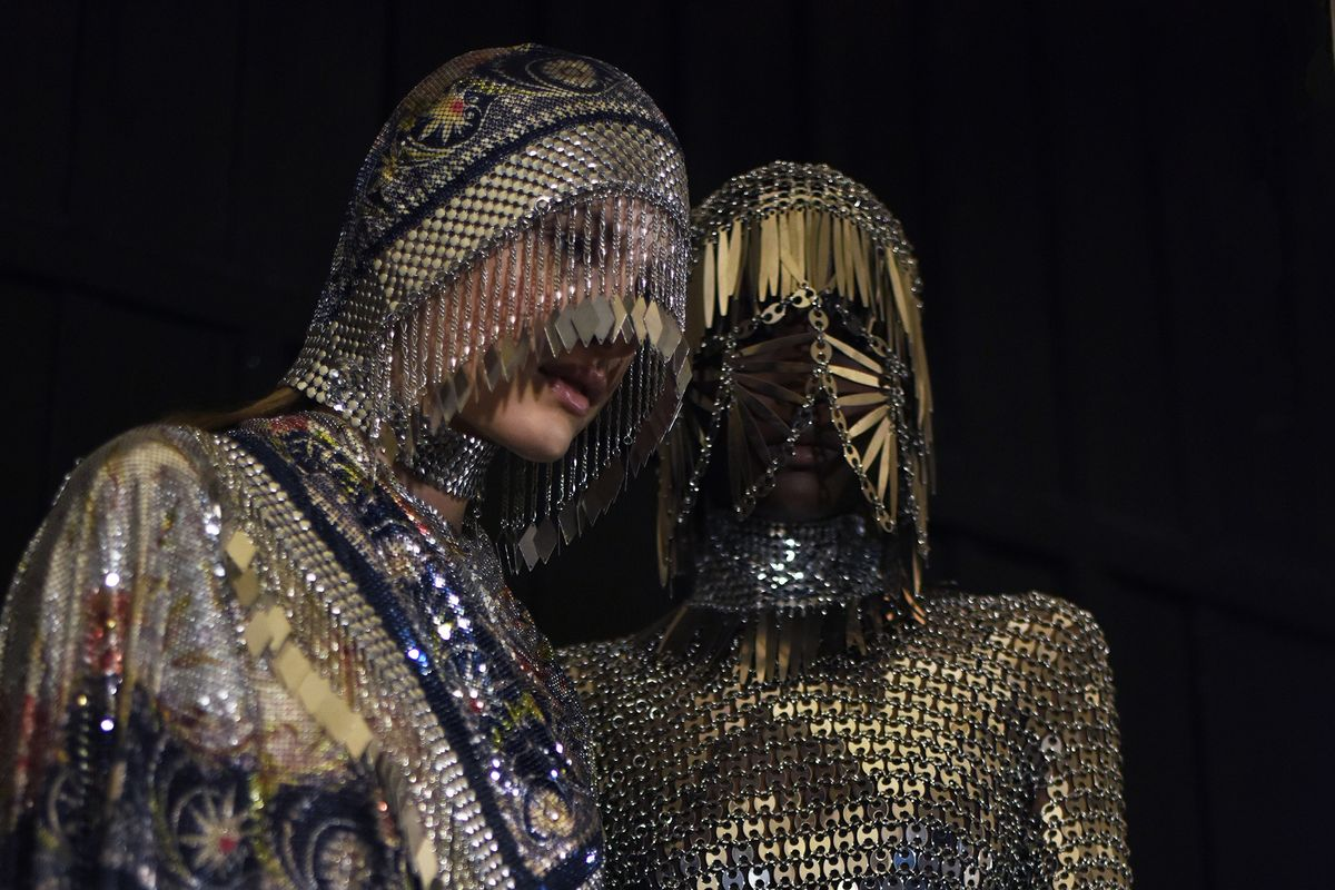 Nothing Says Opulence Like a Medieval Bedazzled Nun