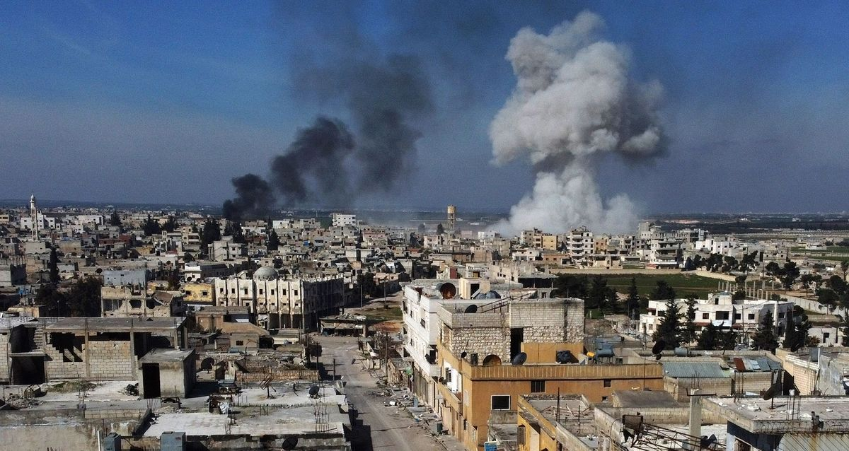 Dozens of Turkish soldiers killed in Syrian airstrike, Turkey vows retaliation