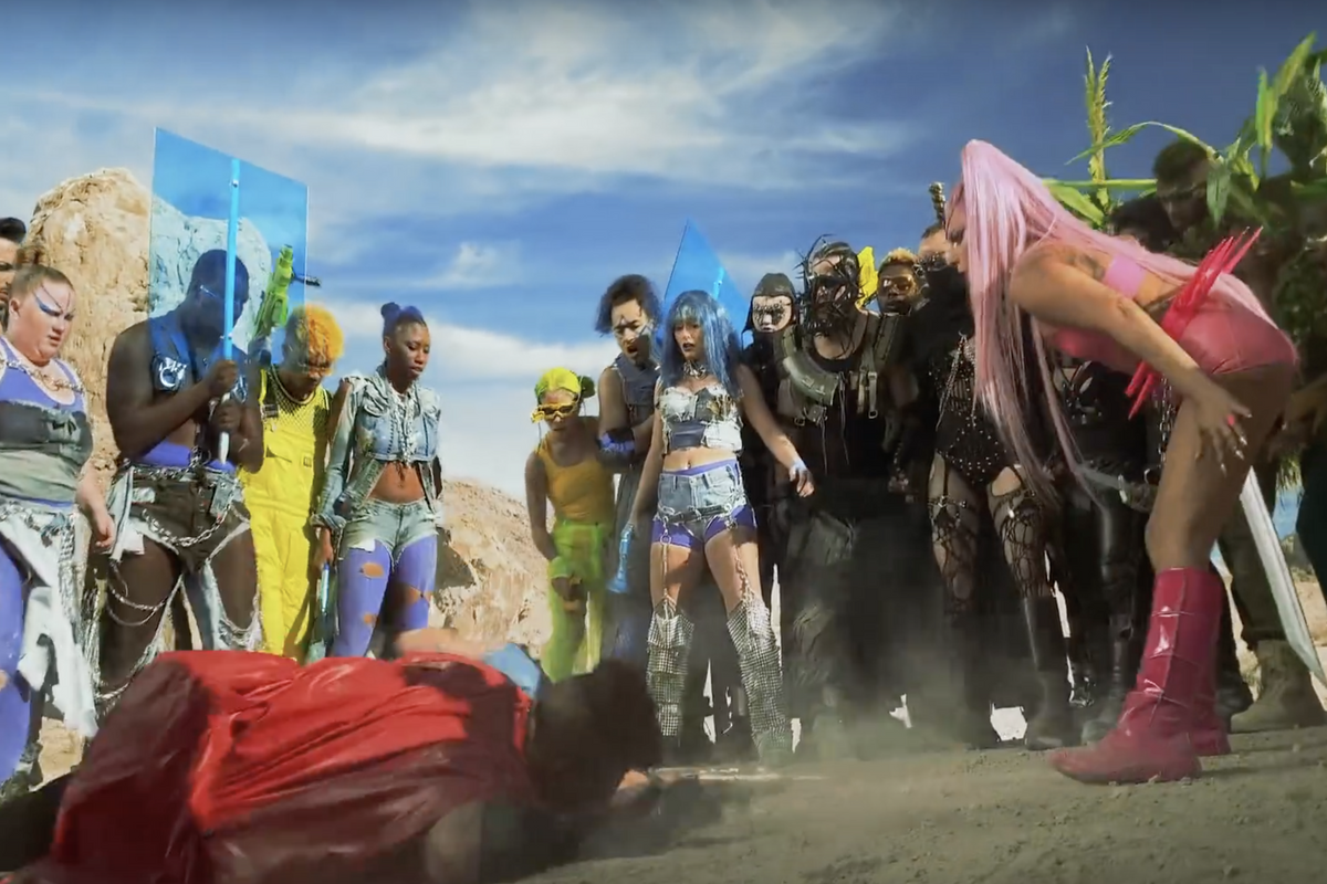 Lady Gaga's New Video Is a 'Mad Max' Pride Parade