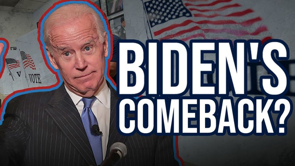 image for A 2020 Joe Biden comeback? Former VP leading BIG in the South Carolina p...