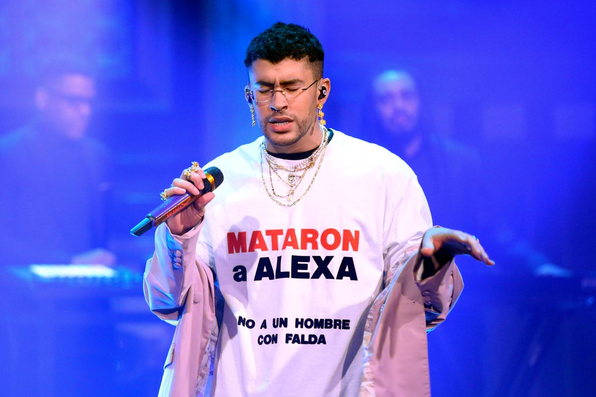 Bad Bunny Honored a Murdered Trans Woman on 'Fallon'