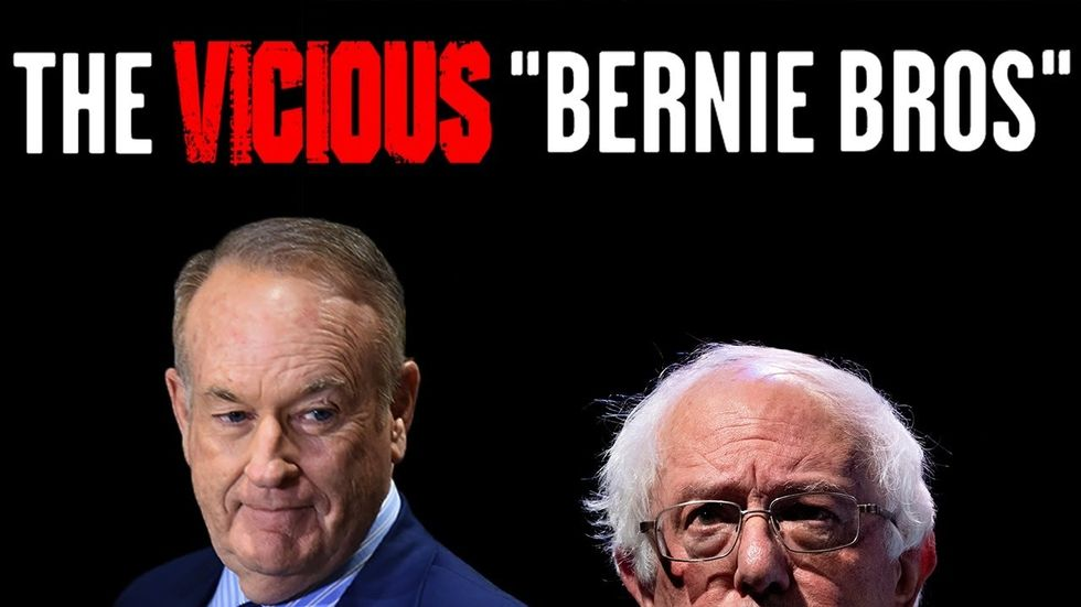 image for BILL OREILLY: 'Vicious' Bernie Bros scare other Democrats; Sanders will ...