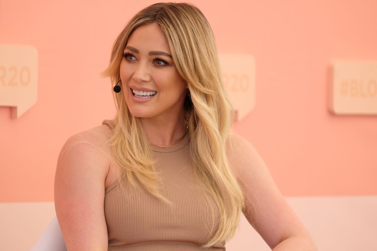 Hilary Duff Speaks Out About 'Lizzie McGuire' Reboot