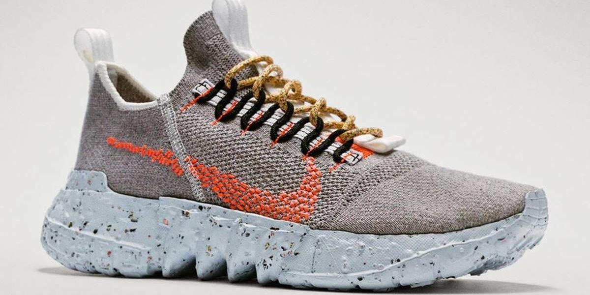 firma Industrial En contra  Nike's new NASA-inspired 'Space Hippie' shoes are its most sustainable yet  - GOOD