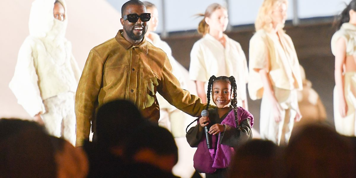 North West Rapped Onstage for Yeezy Season 8