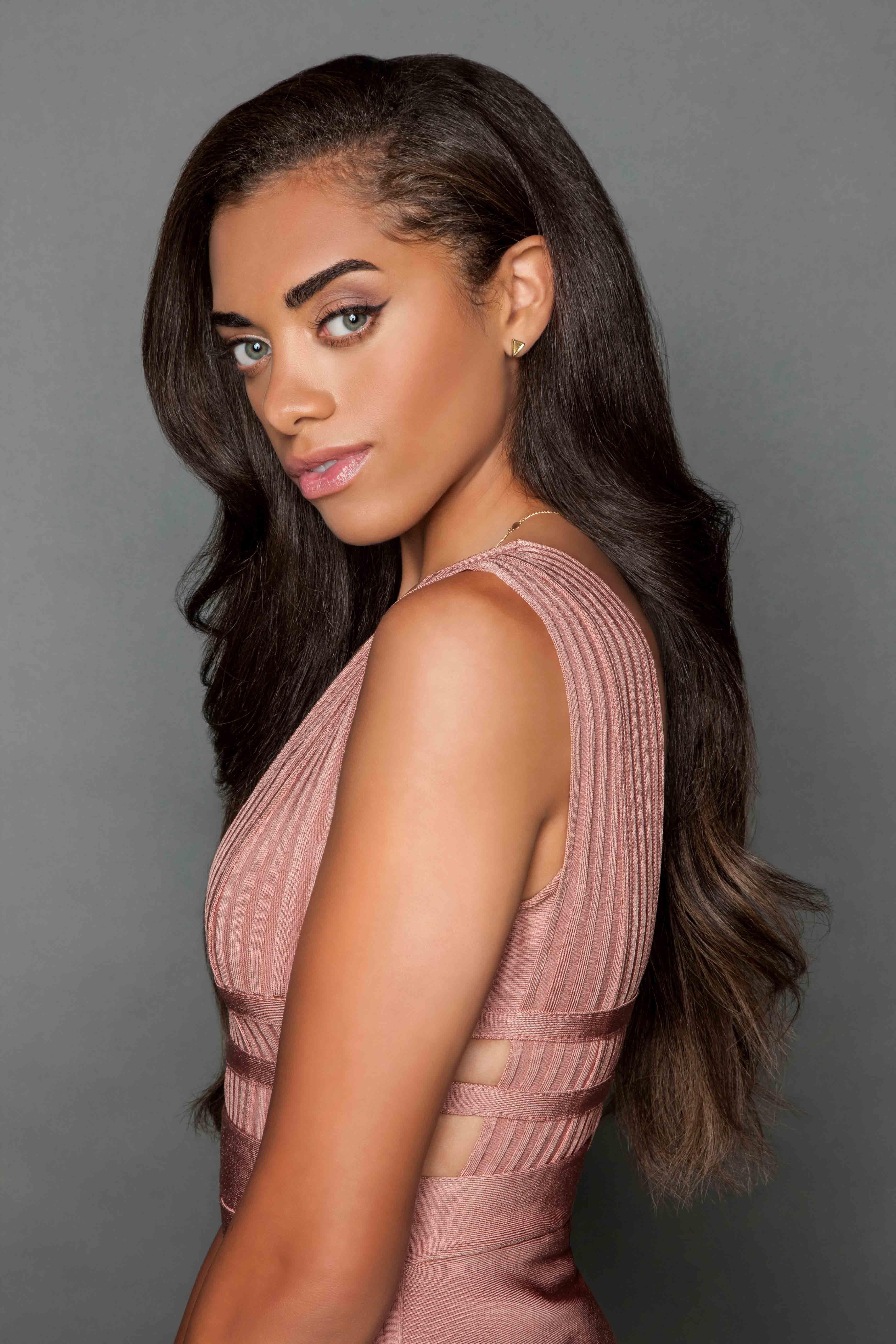 Kiara Barnes of soap opera The Bold and the Beauti