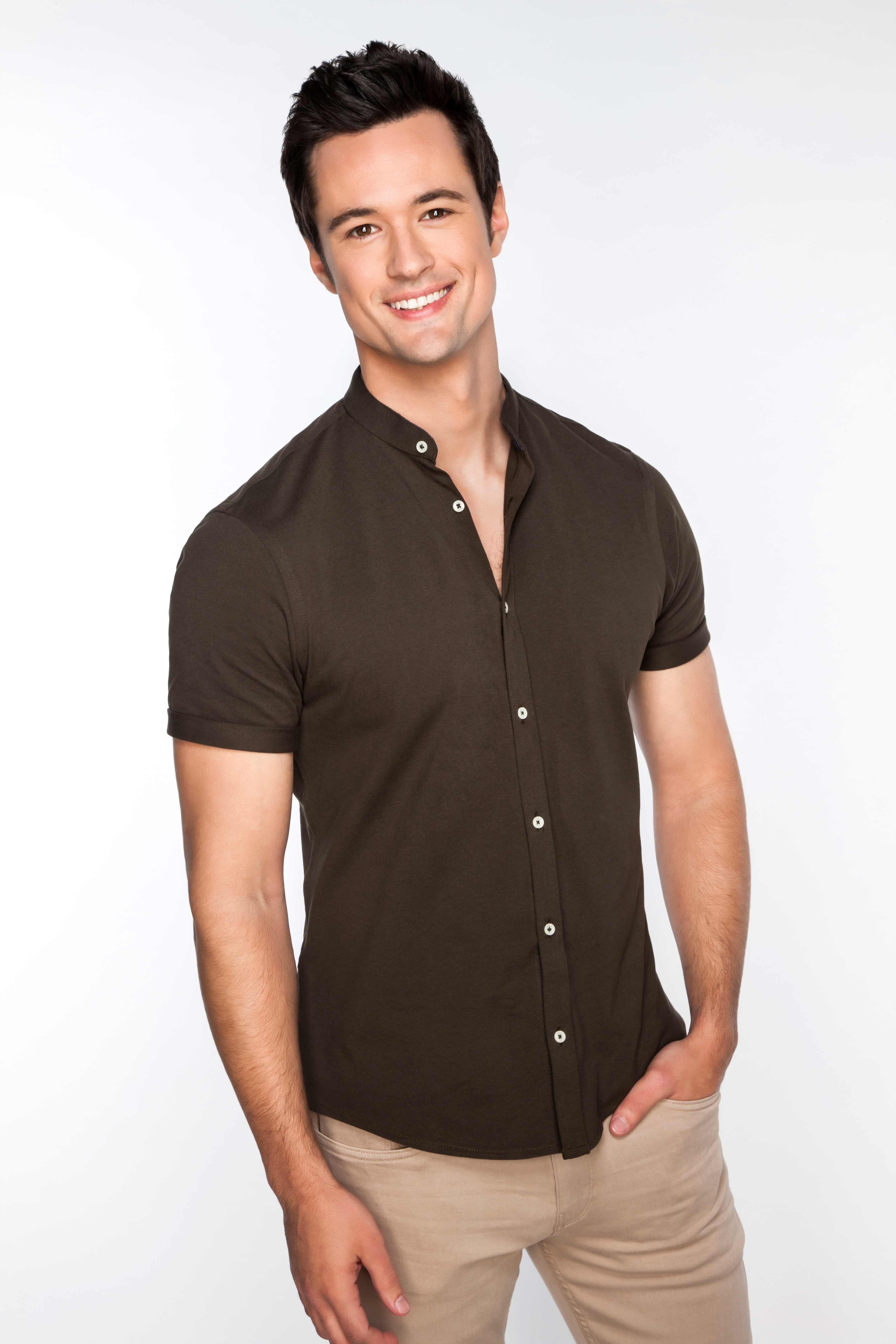 Matthew Atkinson from soap opera The Bold and the Beautiful.