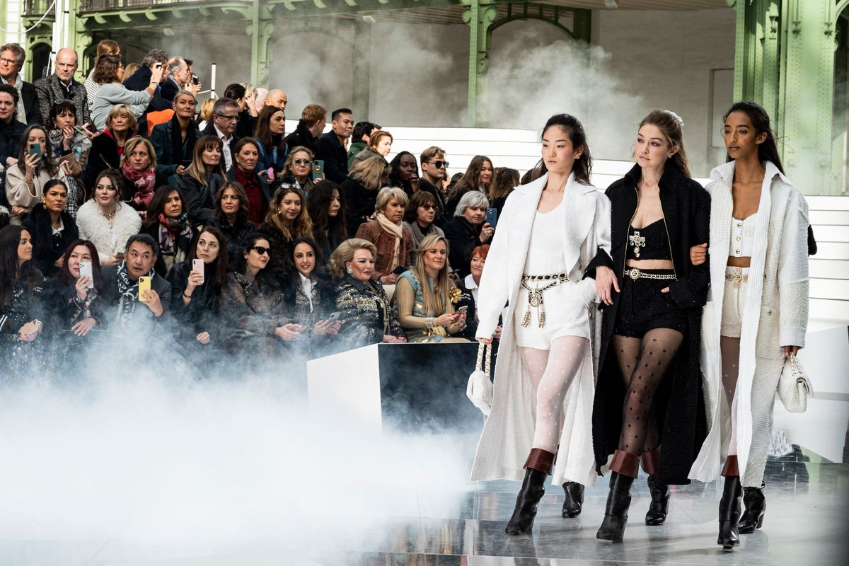 Ladies Who Brunch at Chanel