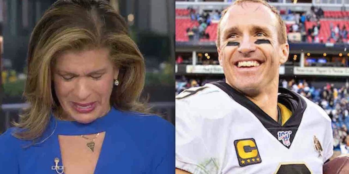 Photo of 'Heartbroken' Hoda Kotb breaks down after interviewing star quarterback Drew Brees who's donating $5M to Louisiana for coronavirus relief | TheBlaze