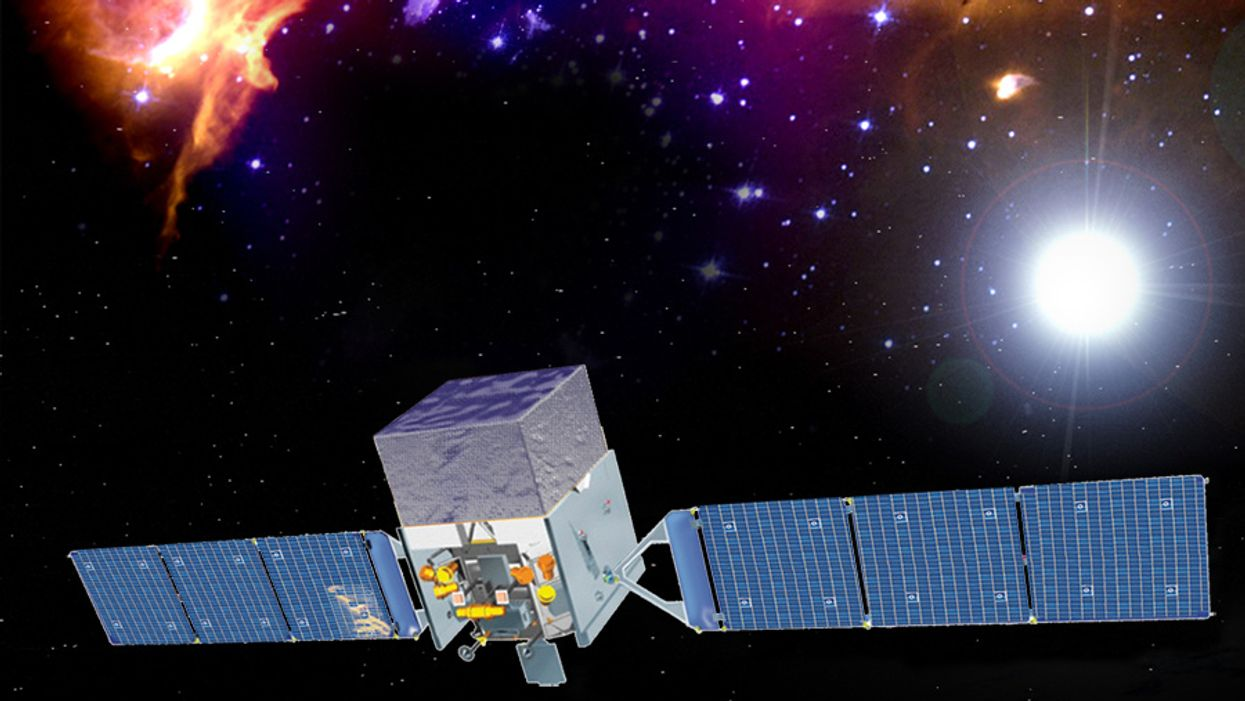 Gamma-ray space telescope study may have spotted dark matter