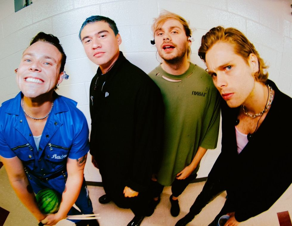 Everyone Stay 'CALM,' The New 5 Seconds Of Summer Album Is FINALLY Here