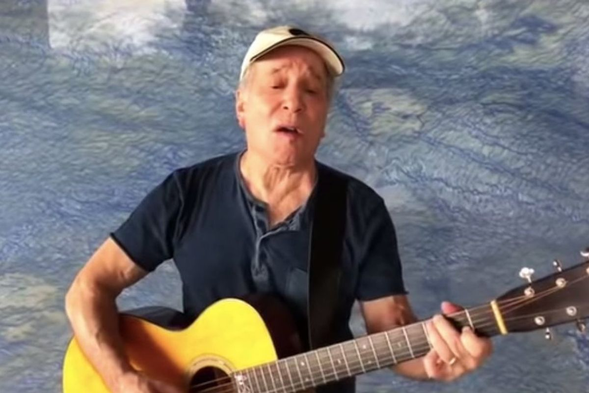 Paul Simon serenades us with his classic 'American Tune'—and it's a perfect anthem for today