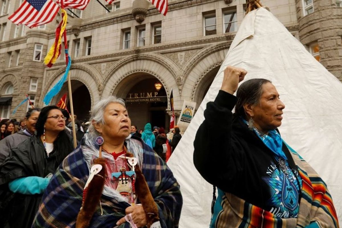 Standing Rock Sioux Tribe has a 'huge victory' in the fight against the Dakota Access Pipeline
