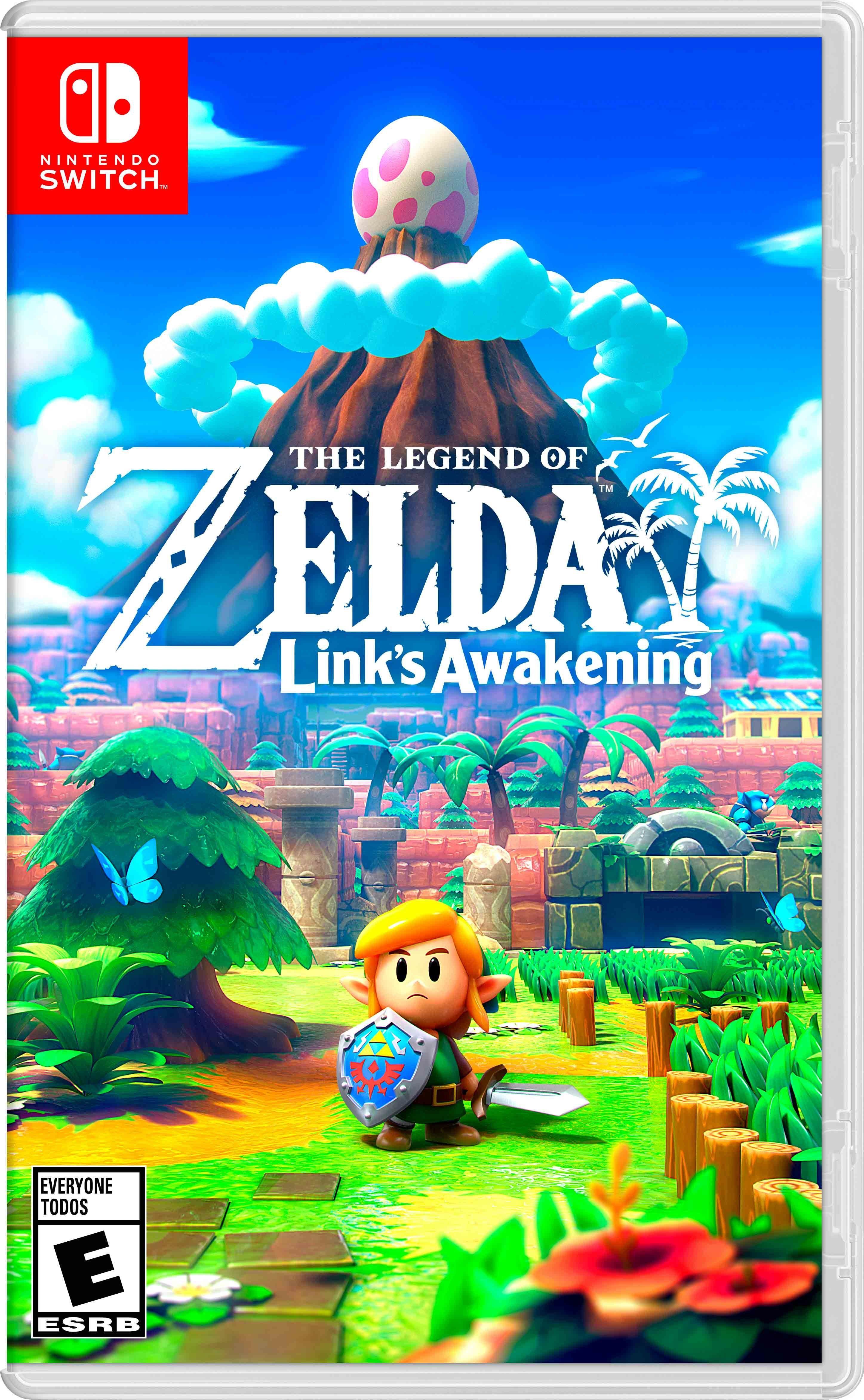 Zelda video game box art.