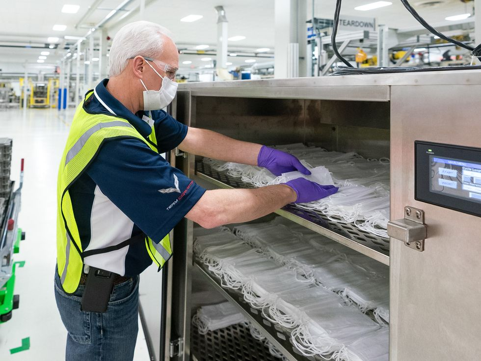 2020 face mask coronavirus production