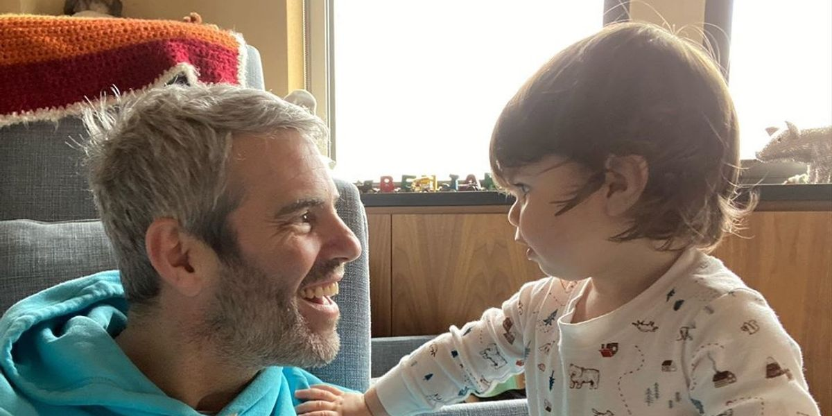 Andy Cohen reunites with his son after COVID-19 quarentine