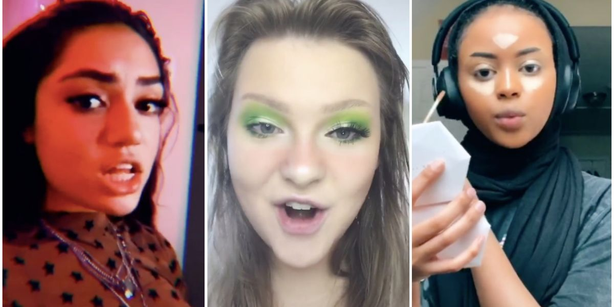 """The """"Where's My Juul"""" Makeup Challenge Is TikTok's Most Chaotic Trend Yet"""