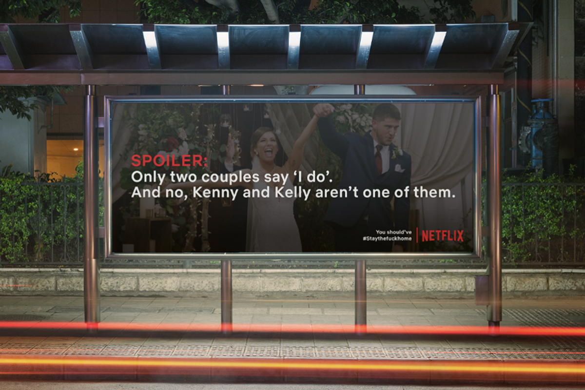 Would You Stay Inside If Your Street Was Lined With Netflix Spoilers?