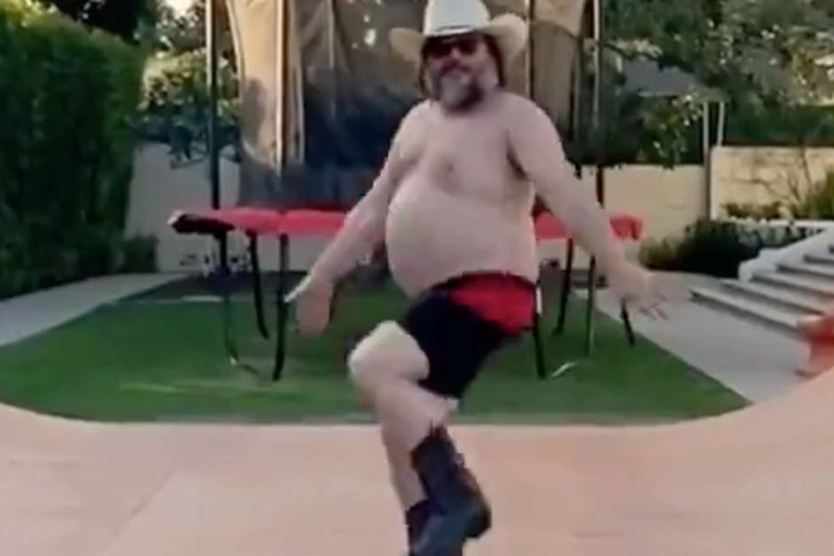 Jack Black's improvisational 'Quarantine Dance' has taken the internet by storm