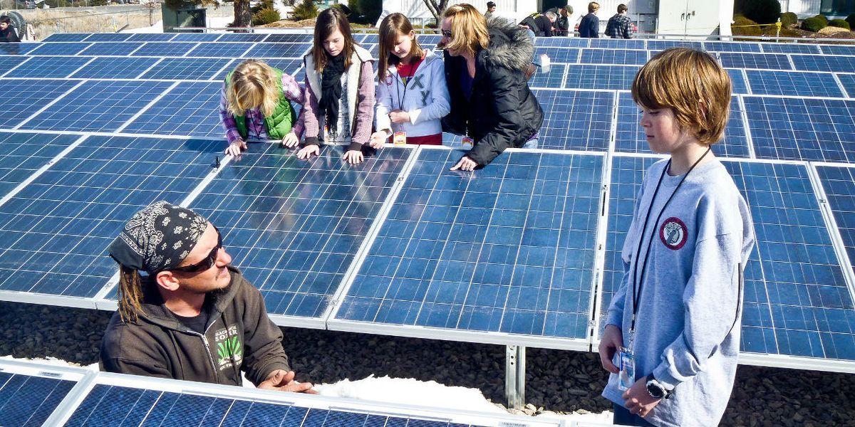 Children solar panels