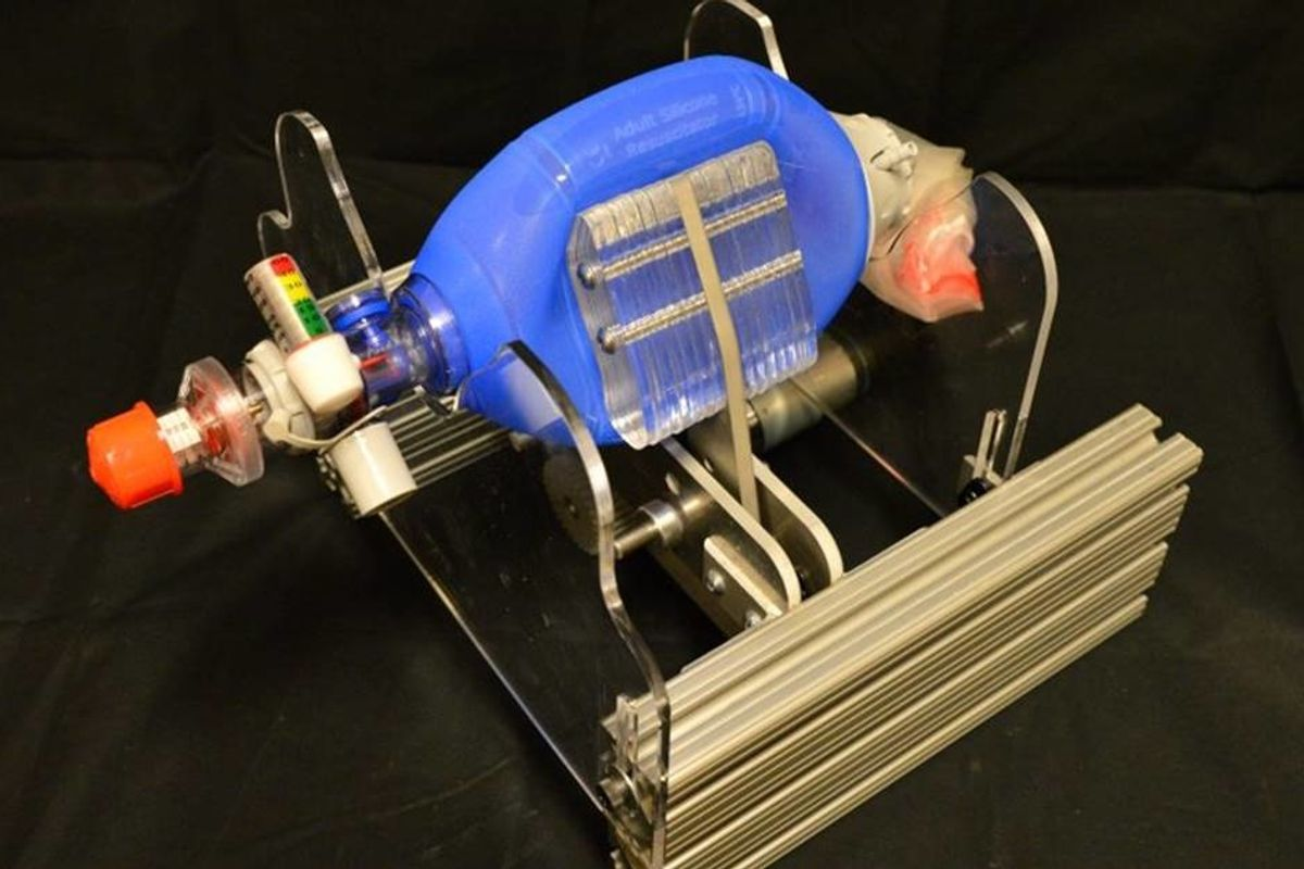 An MIT team created a ventilator that only costs $100 using a common hospital item
